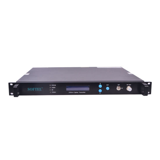 China CATV Fiber Optical Cable TV Transmitter - China Cable