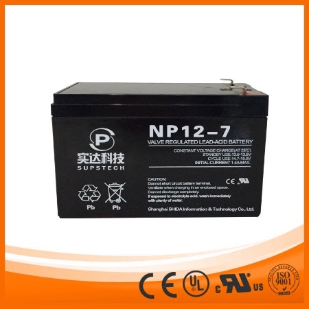 Lead Acid Battery for UPS Np12-7 pictures & photos