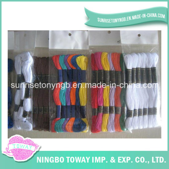 High Quality Embroidery Cross Stitch Colorful Sewing Cotton Thread