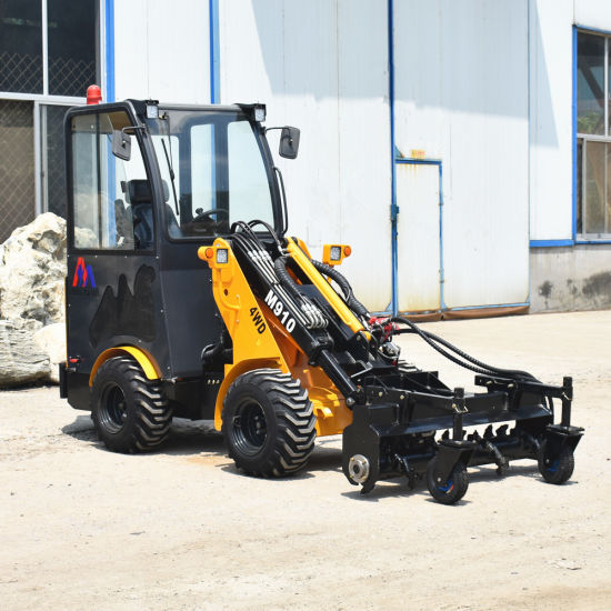 China Yanmar Engine Small Tractor Loader with Landscaping