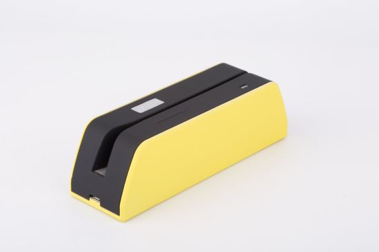 Track 1/2/3 Magnetic Card Reader/Writer Msrx6 with Small Size 140*42*40mm (L*W*H) pictures & photos