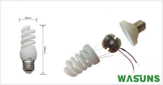 20W Full Spiral PBT Plastic Energy Saving Lights pictures & photos