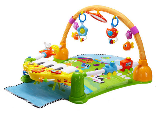 Kids Plastic Toy Baby Carpet Musical Play Mat Baby Toy (H3691073)
