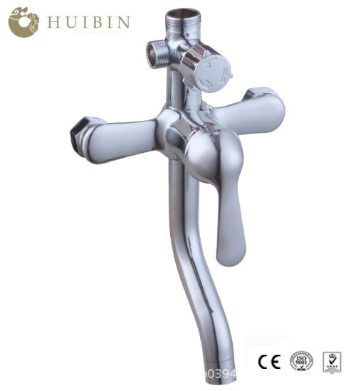 Bath Water Mixer Single Handle with 3 Functions Shower Faucet pictures & photos