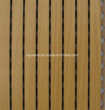 Grooved MDF Acoustic Materials 14/2