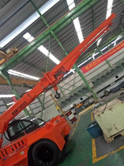 12ton Telescopic Boom Forklift Truck with Ce Certification pictures & photos