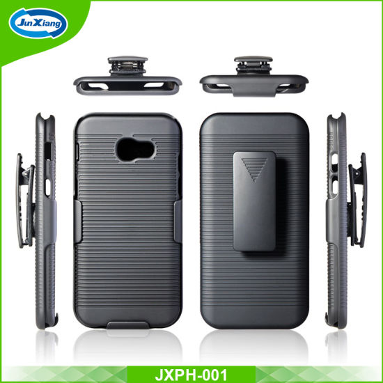2017 Hot Selling New Arrival Full Protection Case with Belt Clip for Samsung A520