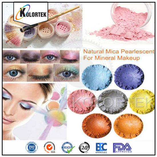 Mica Shimmer Powders for Face, Eye Shadow, Eyeliner, Nails