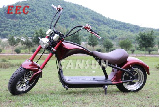 12inch EEC Electric Harley Motorcycle pictures & photos