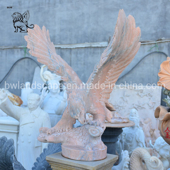 China Supplier Vividly Life Size Bird Stone Sculpture Marble Granite Sculpture Masc-020