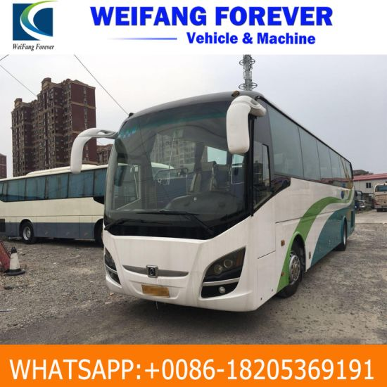 Coach / Bus/ Express 55 Passengers Seats 12 Meters Used Yutong/ King Long/  Zhongtong/ Higer/ Ankai Coach/ Used Bus/ Used Express Bus