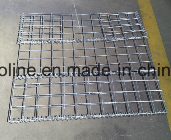 Steel Galvanized Mesh Wall Gabion pictures & photos