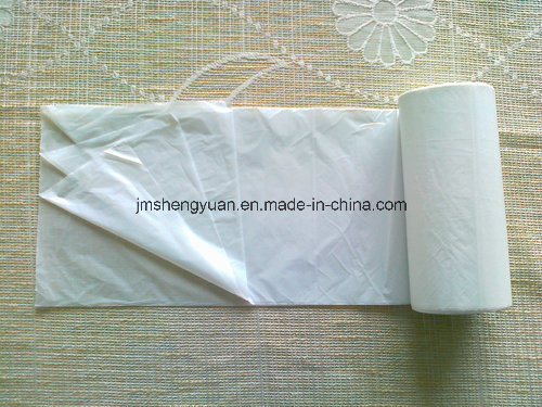 HDPE Plain Star Sealed Plastic Rubbish Bag pictures & photos