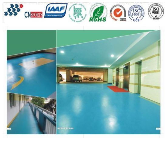 Seamless Decorative Home, Office, Halls Flooring Constructed By Liquid  Materials
