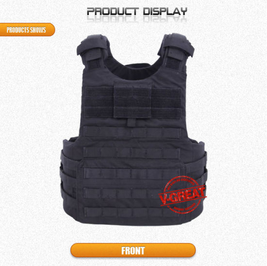 Military Bullet Proof Vest V-Tac032 with Quick Release Handle