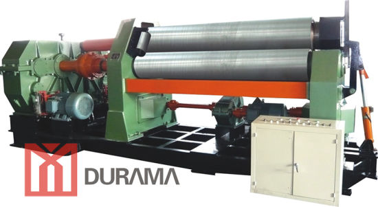 W11 Mechanical 3-Roller Symmetrical Plate Roll Machine pictures & photos