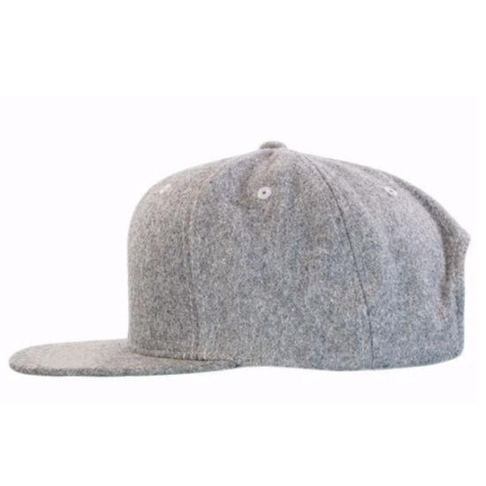 c0dbcf8410fd6 China Custom Made Plain Blank Wool Snapback Hats Wholesale - China ...