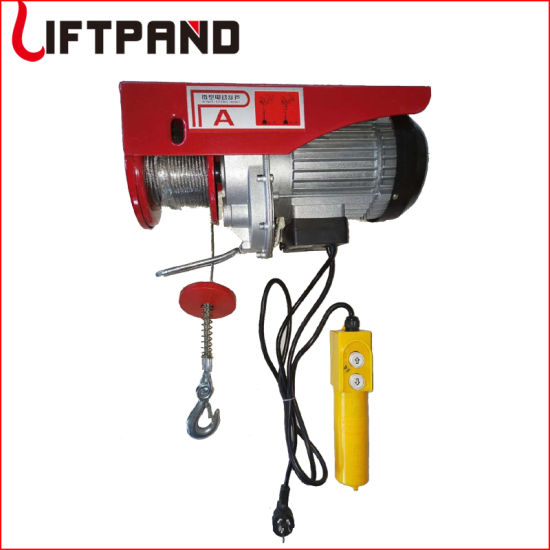 Portable Tracking Block Electric Winch Hoist