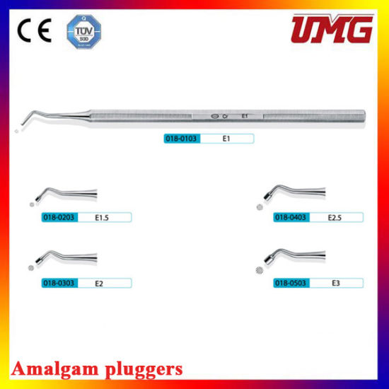 Dental Instrument Dental Root Canal Pluggers