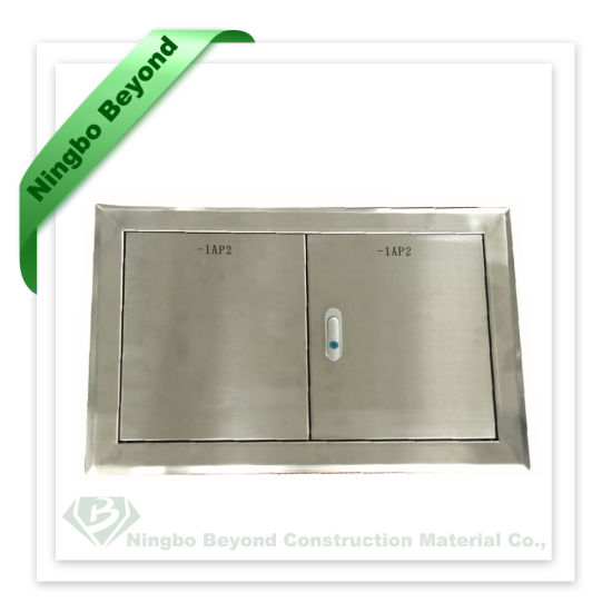 China Double Door Outdoor Stainless Steel Cabinets For Electric