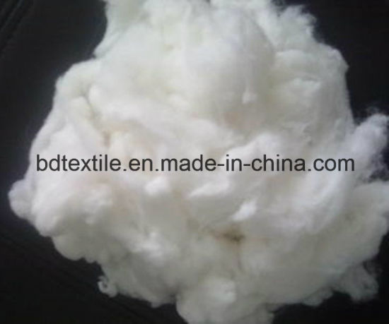 Recycled Hollow Conjugate Non-Siliconized Polyester Staple Fiber pictures & photos