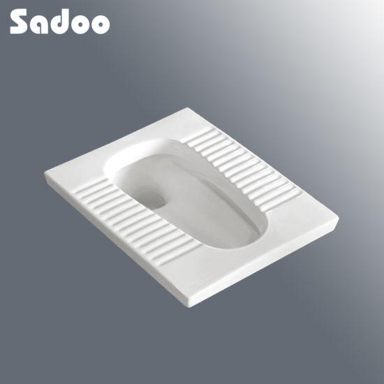 Square Ceramic Squatting Pan SD-D801