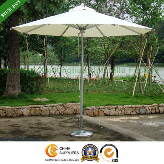 9 Feet Market Aluminium Umbrella For Garden Outdoor Furniture PU 0027A Pictures