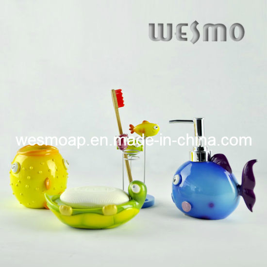 Children Polyresin Bathroom Accessories (WBP0214A) pictures & photos