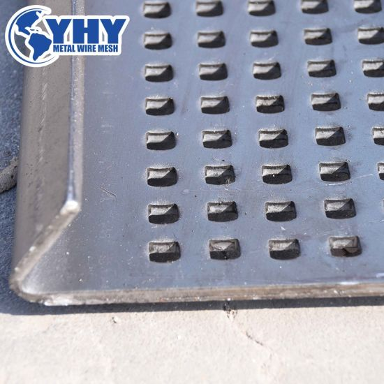 Drying Cooling Cleaning Sieve Stone Punched Perforated Screen Mesh