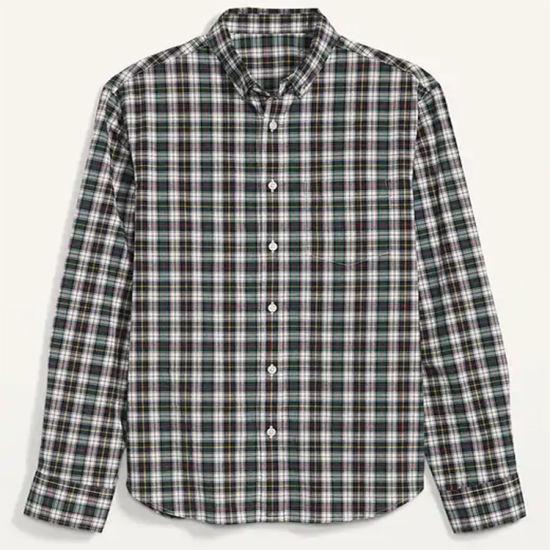 Wholesale 100% Cotton Checked Shirt Custom Mens Shirt
