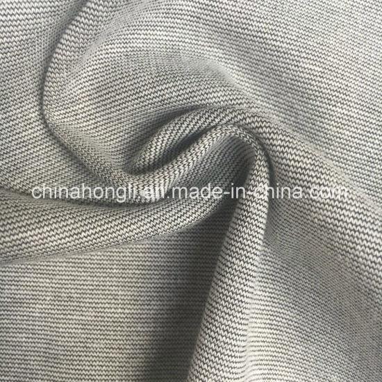 Ponte Roma Cotton/Pplyester/Spandex 86/12/2, 220GSM, Melange & Print Knitting Fabric for Pants