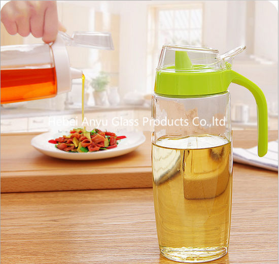 High Quality Vinegar Bottles Soy Sauce Glass Bottle Kitchen Oil Bottle pictures & photos