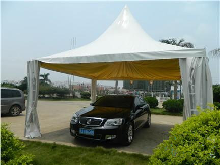 5X5m PVC Pagoda Roof Top Car Promtion Tent for Sale pictures & photos