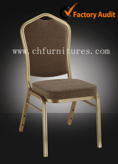 Yc-Zl22 Catering Suppliers Stacking Aluminum Restaurant Event Wedding Dining Hall Party Banquet Hotel Chair