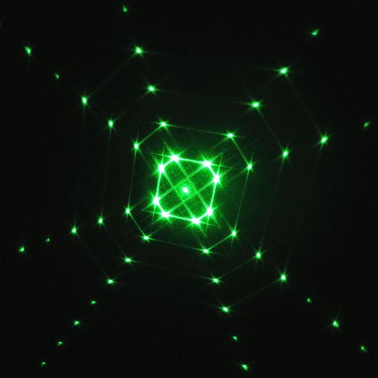 OEM Popular Best Selling 16 in 1 Diffraction Optical Elements Laser Gratings Plastic Lens for Yard Lamp