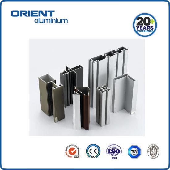 Customized Anodized Aluminium Window Profile Material Factory