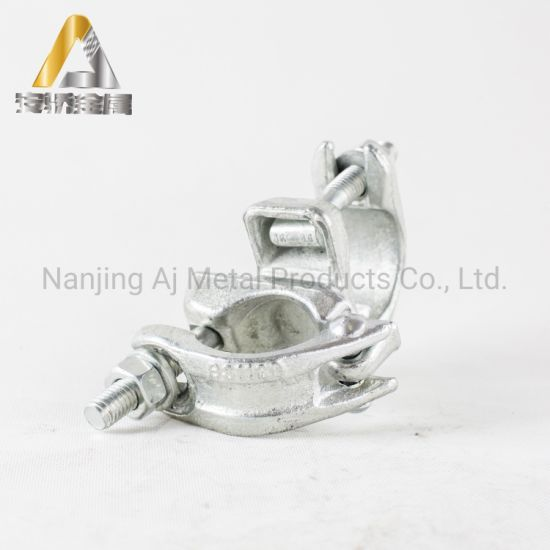 BS1139 British Standard Forged Scaffolding Clamp En74 Scaffolding Swivel Coupler Galvanized Scaffolding Coupler