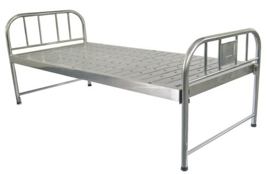 Stainless Steel Plain Hospital Bed (SK-MB127) pictures & photos