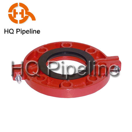 Grooved Pipe Fittings-Grooved Flange pictures & photos