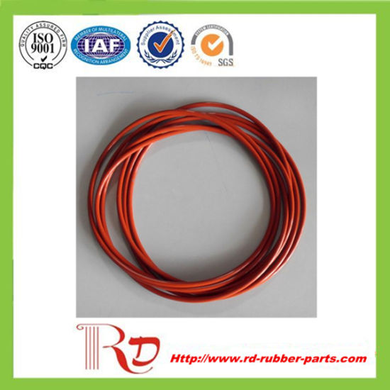 China Reinforced Flat Silicone Rubber Seal O-Ring - China O Ring ...