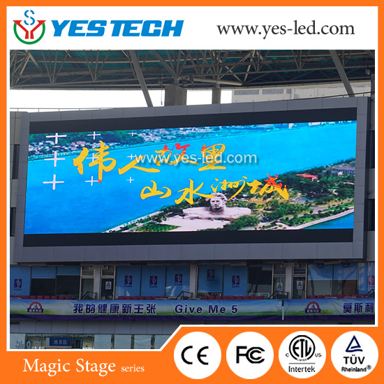 Full Color Video Sports Perimeter LED Screens for Football/Volleyball Stadium pictures & photos