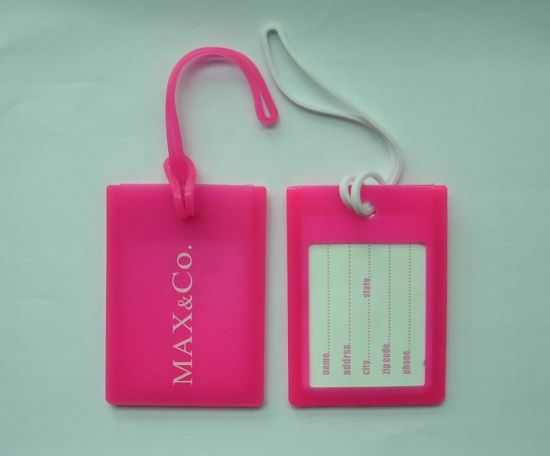 8cb3dddb1e9e China Hot Sale Fashion Pink ID Card Luggage Tag - China Travel ...