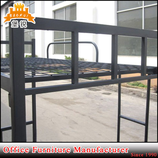 Low Price Students or Worker Use Strong 2 Tier Metal Dormitory Bunk Bed pictures & photos
