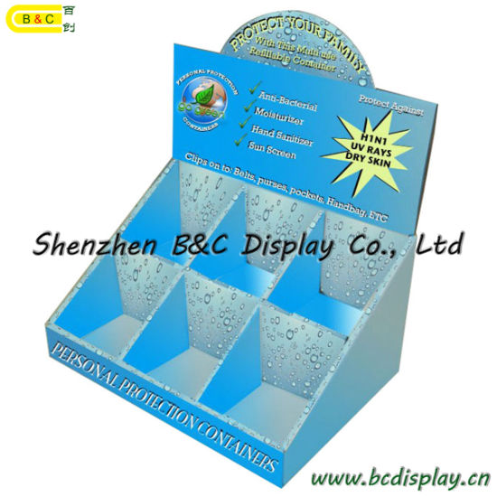 6 Grids PDQ for Hand Cream, Paper Cardboard Display Gift Box (B&C-D011) pictures & photos