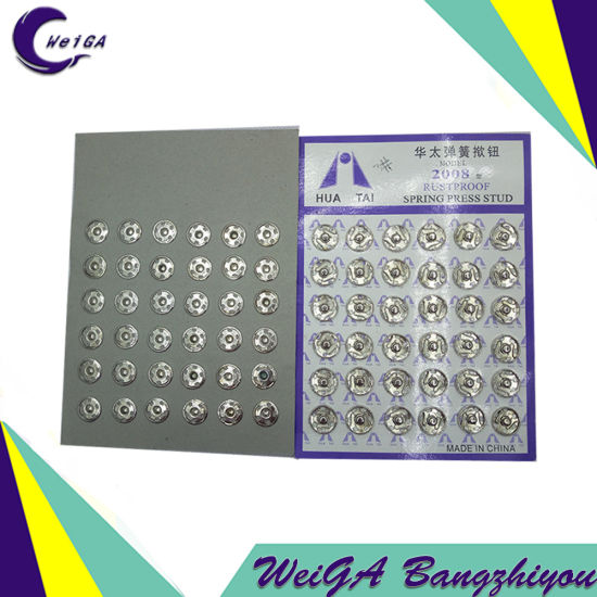 Factory High Quality Electroplating Buttons 3# pictures & photos