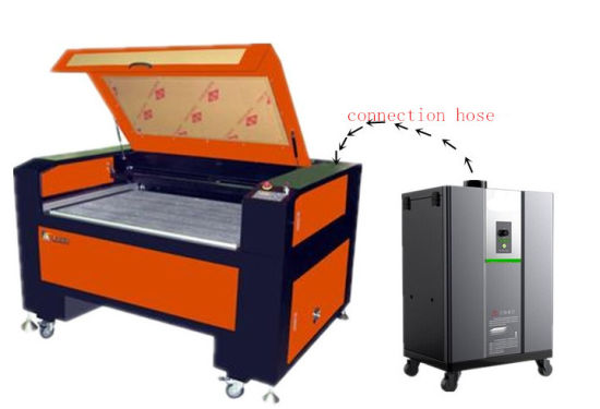 Laser and Soldering Fume Extractor/Smoke Absorber pictures & photos