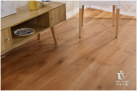 European Oak Engineered Wood Flooring/ Wood Flooring/Brushed/UV Lacquer/Hardwood Flooring pictures & photos