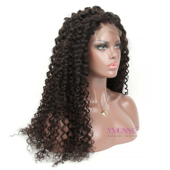 Wholesale Price Deep Wave Pure Brazilian Human Hair Lace Wig