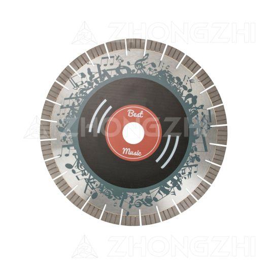 Premium Diamond Tool Arix Segment Saw Blade for Granite Cutting