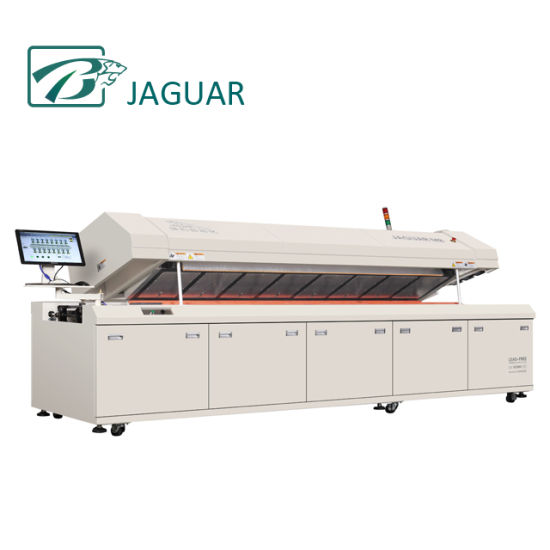 SMT Hot Air 8 Zones Reflow Oven for LED Assembly Line pictures & photos